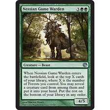 3x MTG Nessian Game Warden NM - Journey into Nyx