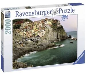 Ravensburger Jigsaw - Cinque Terre Italy 2000 Piece NEW SEALED