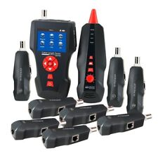 Numérique LAN Réseau Câble Testeur Portatif Traqueur RJ45, RJ11, BNC, PING/POE