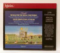 ROBERT KING - HANDEL music for the royal fireworks HYPERION CD NM