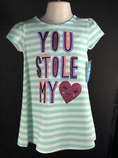 Baby Clothes Girls Dress By Lightning Bug Aqua Fleur Size 2T Short Sleeves NEW