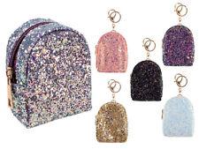 Kleine Geldbörse Glitzer Anhänger Schlüsselanhänger Tasche Börse Mini Rucksack