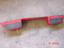 91-94 Jeep Renegade Wrangler Red rear bumper cover back YJ rubber