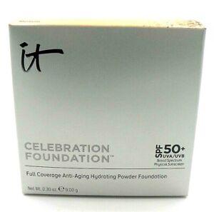 IT Cosmetics Celebration Foundation Hydrating Foundation Powder Medium 0.30 oz