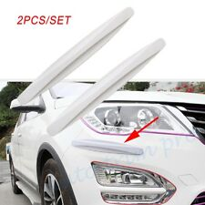 2X Car Parts Body Bumper Exterior Decorative Protector Crash Bar Anti-rub Strips