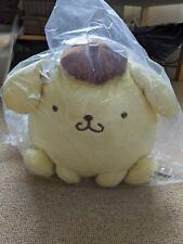 UK SELLER Sanrio Pompompurin Plush sitting 28cm Toreba kawaii Japan NEW