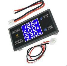 Digital LCD Volt/Amper/ Power Meter 50/V 5Amp. DC Leistung/Watt