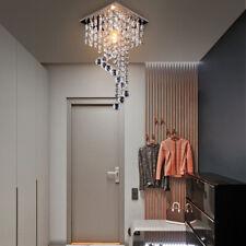 Crystal Ceiling Lamp Hanging Light Modern Chandelier Pendant Lighting Fixture
