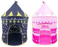 Children's New Play House Indoor Outdoor Girls Boys Fairy Castle Pop Up Tent