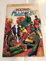 Hero Alliance End of the Golden Age #1 Innovation comic 1st Print 1989 NM