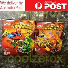 *RARE* Lego Marvel Super Heroes - Spider-man Vs Scorpion, Ironman Vs Thanos -NEW
