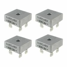 4X 50A 1000V Metal Case Single Phases Diode Bridge Rectifier KBPC5010 L6T3