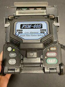 FUJIKARA FSM-60S FIBER FUSION SPLICER