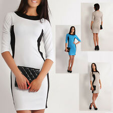 Women's New Pencil Casual 2-Colours Elegant Dress PLUS SIZES! CLEARANCE! FA208