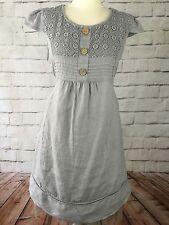 Linen Short Sleeve Everyday Dresses for Women