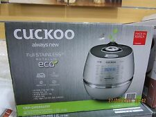 Cuckoo IH Pressure Rice Cooker/Warmer 6cup 1.08L S/Steel coating  CRP-DHSR0609F