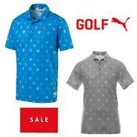 Puma Golf Mens Verdant Polo Shirt 45% OFF RRP New