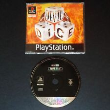 promo DEVIL DICE PlayStation UK PAL・♔・pre-release full game PUZZLE PS1 PSX PS2