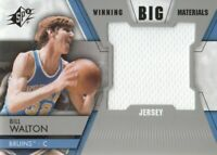 2014-15 SPx Winning Big Materials Jersey #WM-BW Bill Walton UCLA Bruins