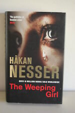 The Weeping Girl by Hakan Nesser hardback with dust jacket