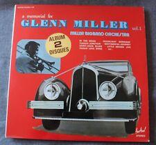 A Memorial for Glenn Miller vol 1 - Miller Bigband Orchestra, 2LP - 33 tours