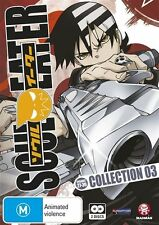 Soul Eater  Collection 3 (DVD, 2010, 2-Disc Set) Brand new/sealed Anime English