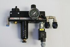 Rexroth 7290 Valve Assembly and 1 827 231 010 Manometer Pressure Gauge