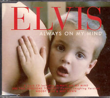 Elvis Presley Always On My Mind UK CD Single