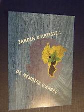 CPM Jardin d'Artiste : de mémoire d'arbre
