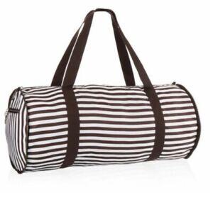 Henri Bendel Packable Duffle Bag Centennial Stripe