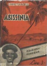 Rossi - Abissinia - Minerva 1935 Etiopia - Guerre d'Africa