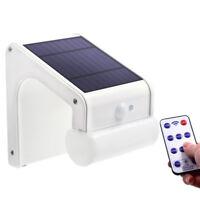 Lampe Éclairage Solaire Extérieur Luminaire Capteur Mouvement 6 Mode 38 Led