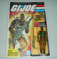*RECARDED* 1984 GI Joe Roadblock Figure Complete Sealed *CUSTOM File Card Back*