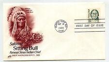 2183 Sitting Bull, ArtCraft  FDC
