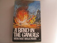 Good - A Bend in the Ganges - Manohar Malgonkar 1964-01-01 HARDCOVER edition.  H