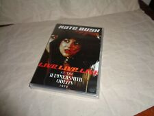 KATE BUSH LIVE AT THE HAMMERSMITH ODEON dvd UK RELEASE RARE