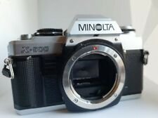 Minolta X-500 film SLR body only - in great condition