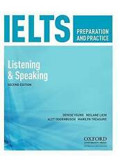 NEW IELTS Preparation and Practice By Denise Young Paperback Free Shipping