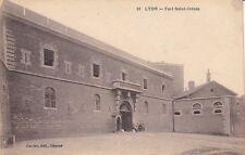 Carte postale ancienne LYON 91 fort saint-irénée éd carrier timbrée 1918