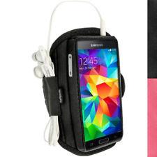 Fascia da braccio Per Samsung Galaxy S4 con velcro con controlli accessibili per cellulari e palmari