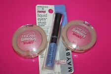 Maybelline Liquid Eyes Eye Shadow Boundless Blue + 2x DREAM BOUNCY 05 FRESH PINK