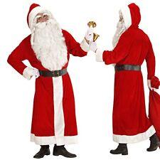 DELUXE NIKOLAUS Kostüm Weihnachtsmannkostüm SAMT  Weihnachtsmann XL 54 56
