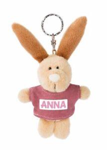 NICI Schlüsselanhänger Hase Anna 10cm m. T-shirt