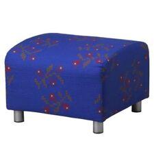 Ikea KLIPPAN Pouffe Slipcover Klippan Footstool Cover HAGEBY slipcover, NEW