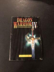 dragon warrior 4 nes manual