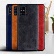 Case for Samsung Galaxy S20 Plus A51 A71 Note 10 Lite 20 Ultra leather skin case