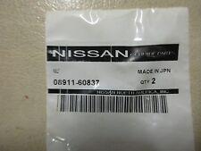 08911-60837 NISSAN  GENUINE OEM Nut
