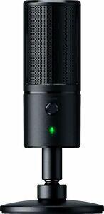 Razer Seiren X Professional Grade Studio Sound USB Digital Condenser Microphone