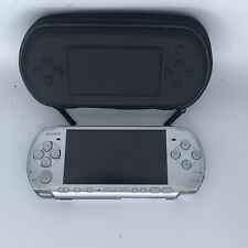 Sony PSP 2000 Sliver System with Case , No Charger