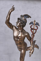 Hermes Figur Götterbote Heroldstab Merkur Mythologie Skulptur Veronese Statue